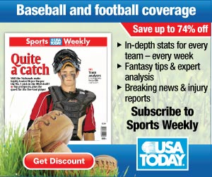 Subscribe to Sports Weekly - 13 weeks                                     for $3