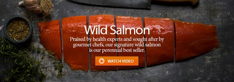 SAVE 5% & GET FREE SHIPPING ON WILD SALMON ORDERS OVER $99+ Using Code: 1VCAF5 At VitalChoice.com!