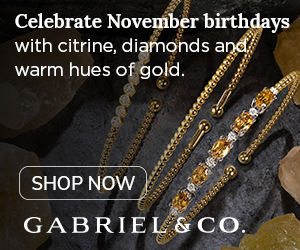 Celebrate November Birthdays Birthstone Fine Jewelry Banner