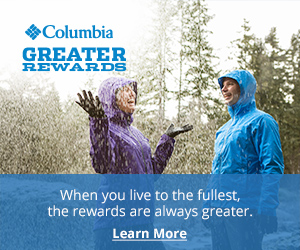 Columbia Sportswear Promo Code - Rewards Program and Free Shipping