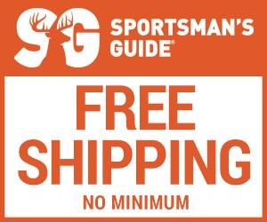 Sportsman's Guide Promo Code - Free Shipping No Minimum