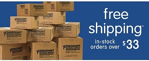 FREE SHIPPING ON IN STOCK ORDERS $33+ At Discount School Supply! Use Code: 33OCT19 At Checkout!