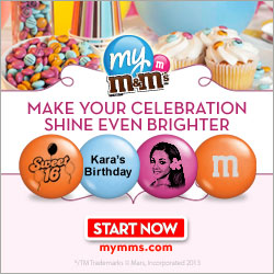 Free Shipping - Personalized MY M&M'S® Candies.