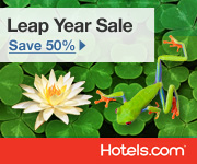 Leap Year Sale: Save 50% today only! Book by 11:59PM CST 2/29/12