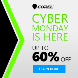 Cyber Monday at Corel