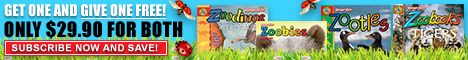 Zootles Magazine for Kids 2-6,The Zoobooks family of magazines are award-winning publications for kids ages 0 to 12 and a trusted leader in children's media. Zoobooks, an ad-free magazine that is jam-packed with engaging wildlife writing and amazing photography.