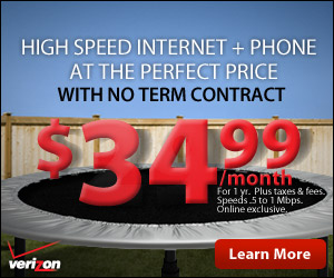 Get Verizon High Speed Internet+Phone