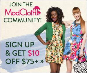 ModCloth Grab Bag Sale until M...