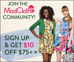ModCloth Treat Yourself Sale -...