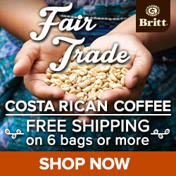 Fair Trade Coffee Sale: Free Coffee Bag + Free Shipping