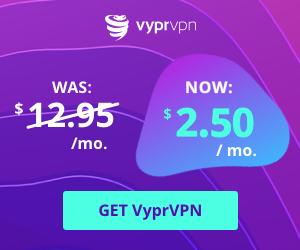 VyprVPN: 80% off VPN Service (2 Years Plan)