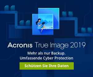 Image for DE Acronis True Image 2019 | Launch Banner 300*250