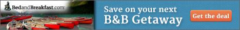 Find Great Deals at BedandBreakfast.com!