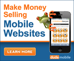 Give your clients a mobile solution with DudaMobile!