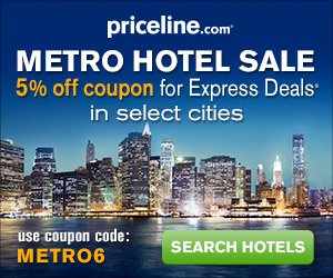 Priceline.com Hotel Coupon Code