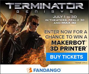 Terminator Genisys Sweepstakes