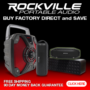 Portable Audio System Factory Direct Speakers and Sound Systems - Rockville.com