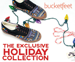 BucketFeet Exclusive Holiday Collection - 300x250