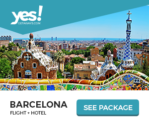 Image for Yes!Getaways | Barcelona | Banner 300 x 250 | Evergreen
