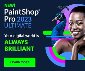 Corel Corporation - DM_PaintShop Pro 2021 Ultimate – 300X250