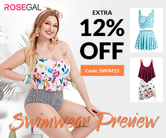 Use Code: SWIM12 Get Extra 12% OFF For Swimwear Preview On ROSEGAL.com