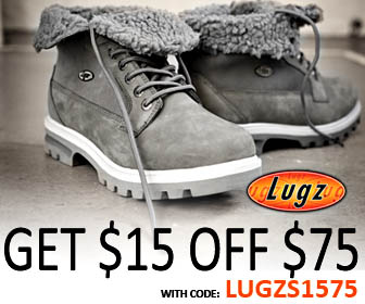 Get $15 OFF $75 at Lugz