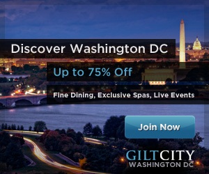 Discover D.C. Up to 75% off at Gilt City