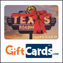 Texas Roadhouse Gift Card from GiftCards.com