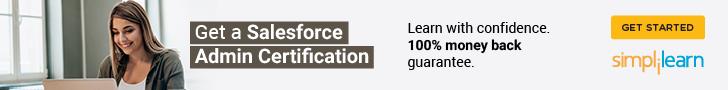 728x90 Salesforce Administrator & App Builder Certification Training