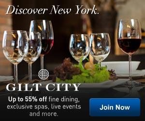 Discover NYC. Up to 55% off at Gilt City