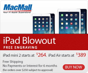 iPad Blowout: Last-Gen iPad deals from MacMall.com