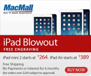 iPad Blowout: Last-Gen iPad deals from MacMall.com