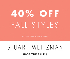 40% off on Fall Styles! Only for few days!