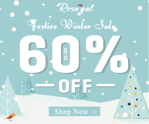 Winter Sale: Up to 60% OFF with Free Shipping