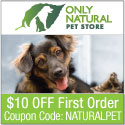 10% off ecofriendly items at onlynaturalpet.com
