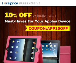 August Sales: 10% OFF all Apple Accessories, coupon code: APP10OFF