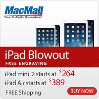 iPad Blowout | Last Gen iPad deals at MacMall.com