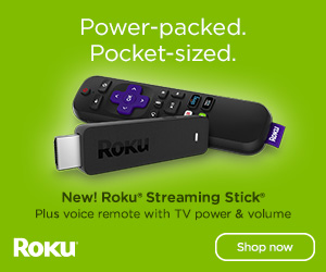 Do you Roku? We do! Online Streaming Stick