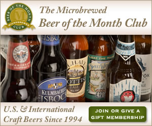 Microbrewed Beer of the Month Club Beer Subscription Box