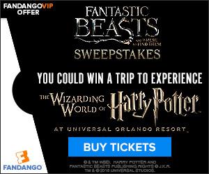 Fantastic Beasts Sweepstakes