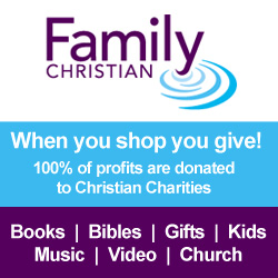 Family Christian: When you shop, you give:  100% of our profits are donated to Christian Charities