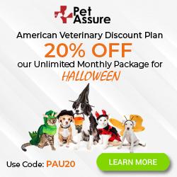 Pet Assure Halloween Banner 250x250