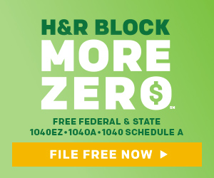 H&R Block Tax Return