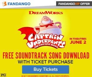 Fandango - Captain Underpants GWP