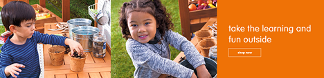 Our Play & Learn Products Let Them Take The Learning & Fun Outside! Get Free Shipping!