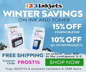 123inkjets.com - March Coupon