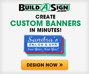Build A Sign Promo Code - Custom Banners