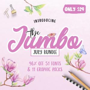SALE!! 96% OFF The Jumbo July Bundle