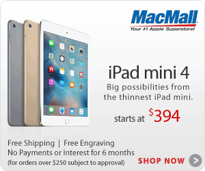 The iPad mini 4 at MacMall.com | Free Engraving on ALL iPads with FREE Shipping on Orders over $35