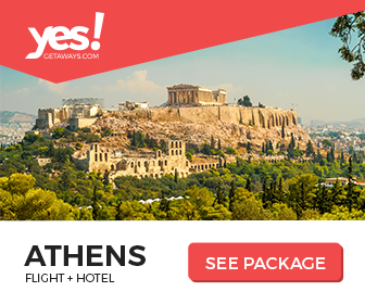Image for Yes!Getaways | Athens | Banner 336 x 280 | Evergreen